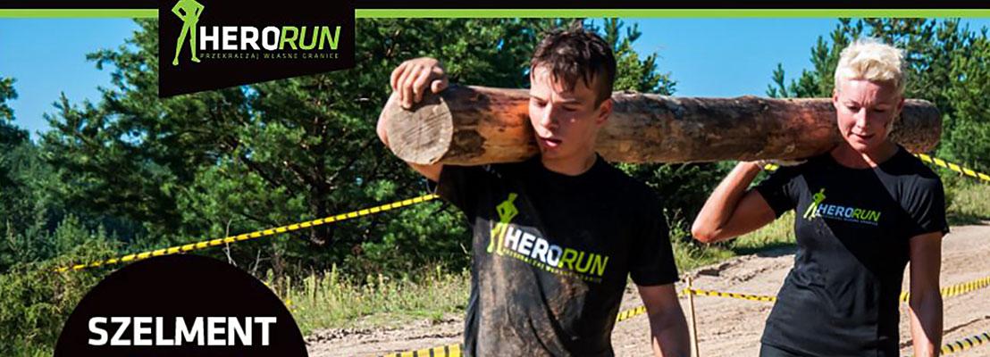 Ekstremalny bieg Hero Run w lipcu w Szelmencie!