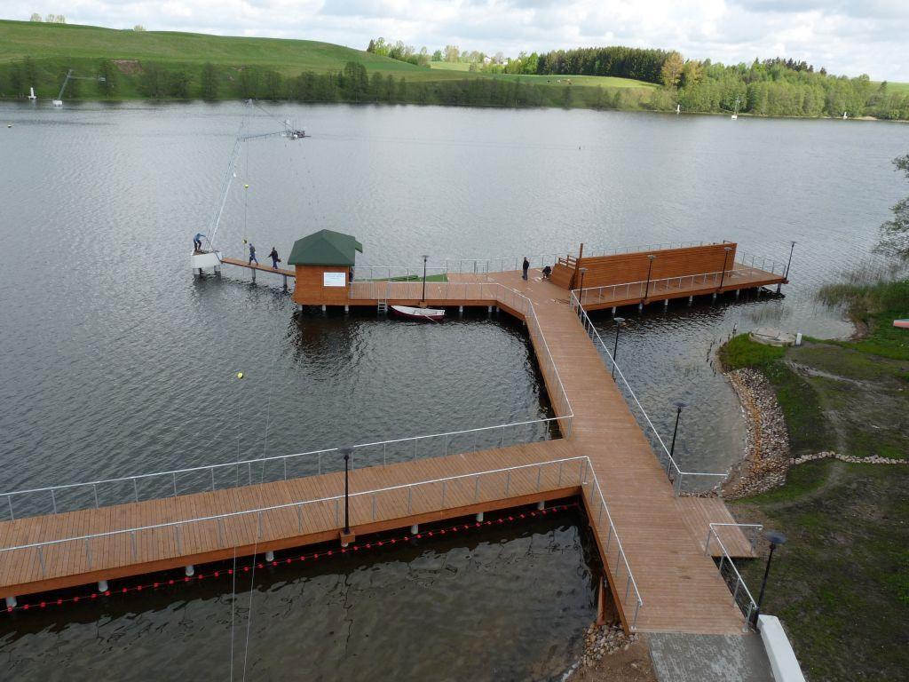 Przegląd techniczny wyciągu nart wodnych
