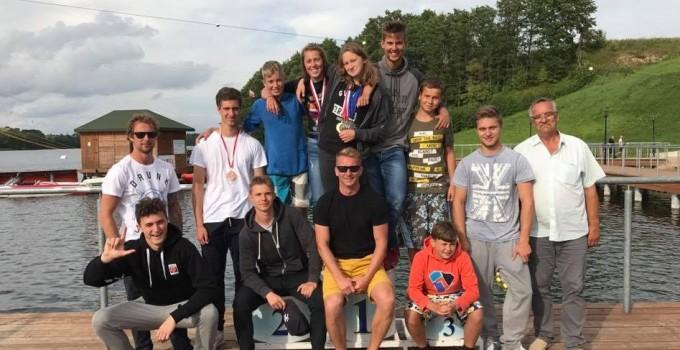 Medale MP w narciarstwie wodnym za wyciągiem rozdane!
