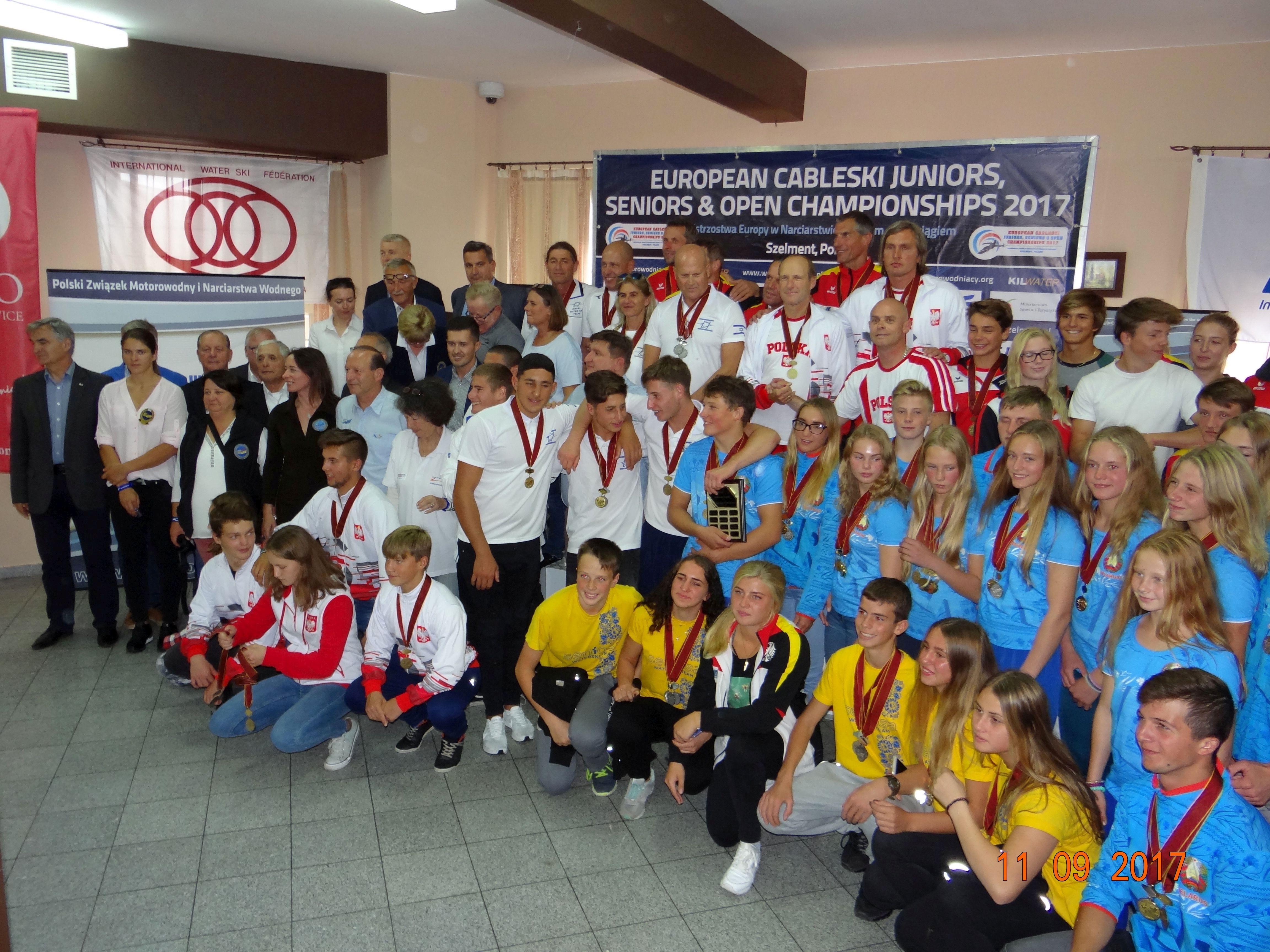 Pierwsza część Mistrzostw Europy w Narciarstwie Wodnym w Szelmencie już za nami.