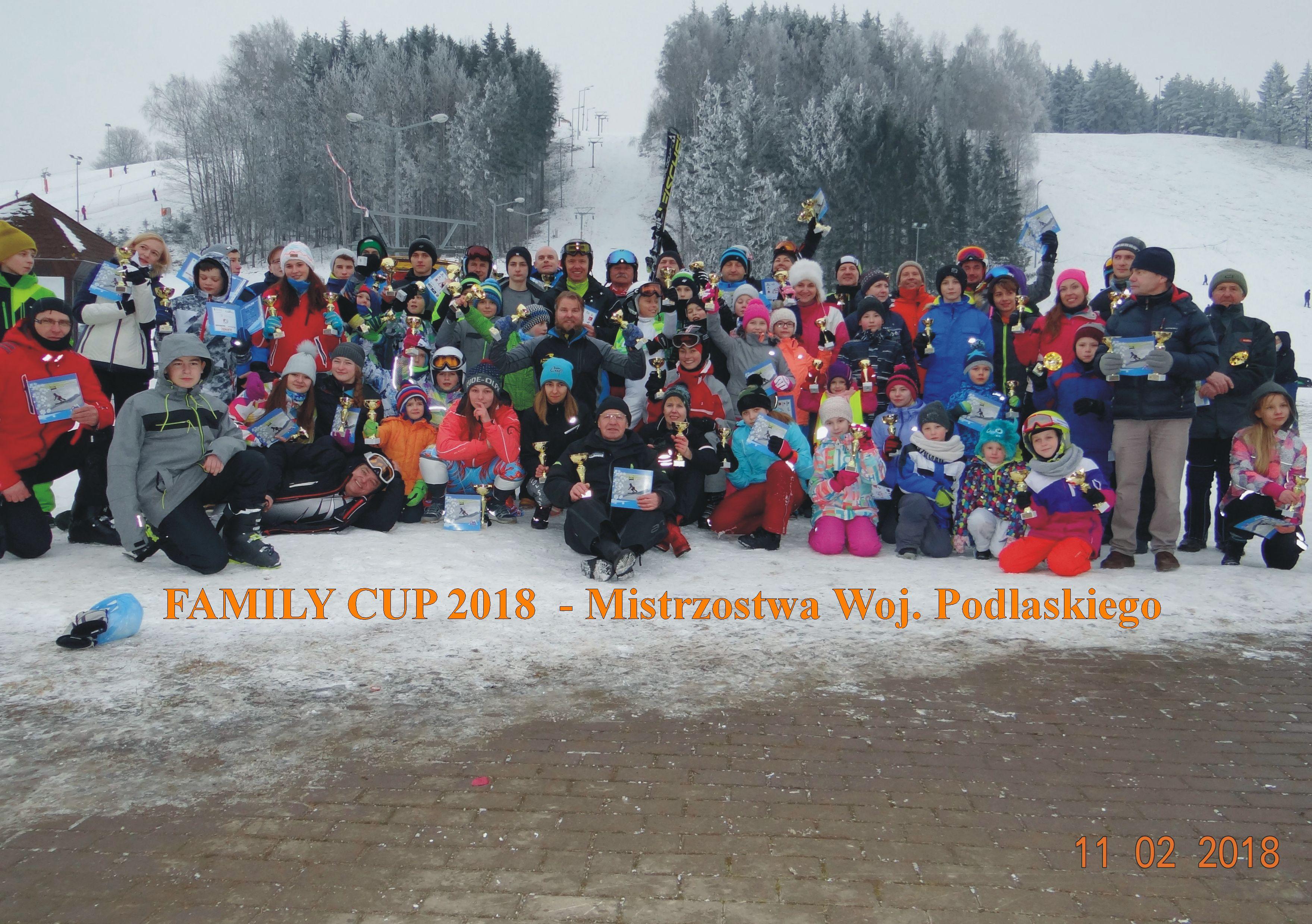 Wyniki Mistrzostw Województwa Podlaskiego i Mistrzostw Litwy FamilyCup
