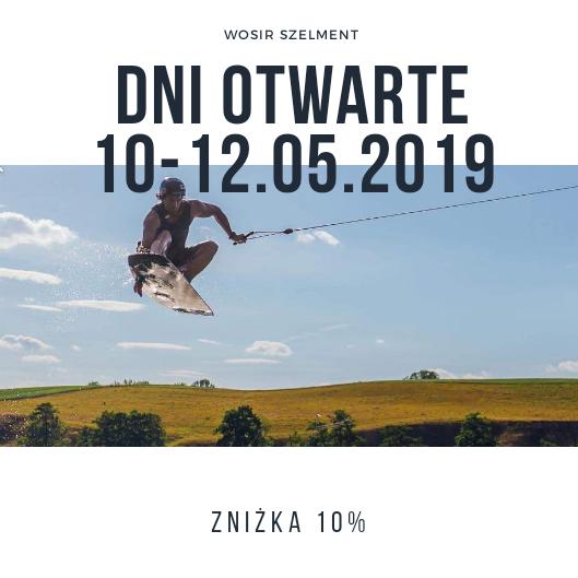 Dni otwarte w WOSiR Szelment 10-12.05.2019 rok