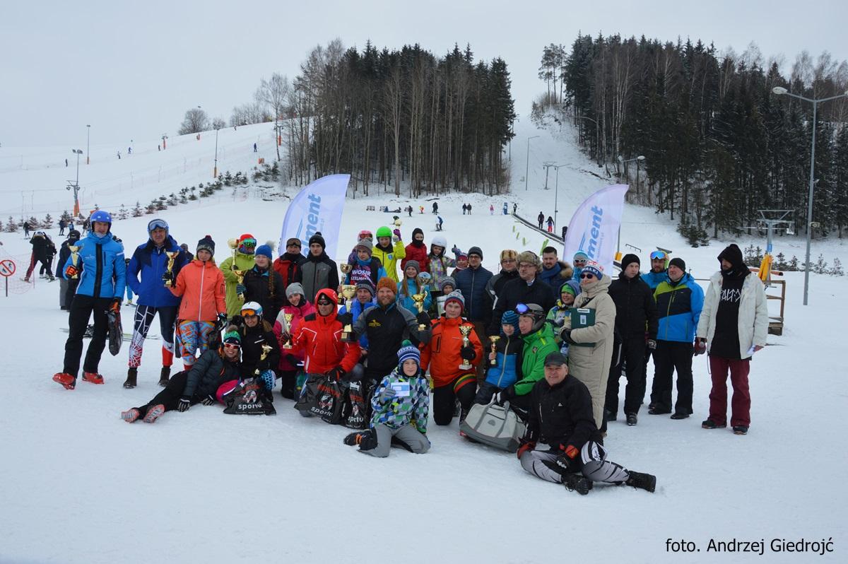 II Slalom Gigant Mistrzostwa WOSiR Szelment!! 25.02.2018