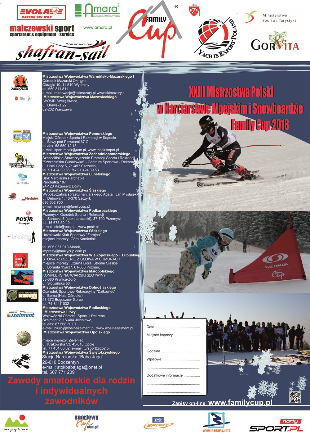 Famili Cup Mistrzostwa Województwa Podlaskiego i Mistrzostwa Litwy 11.02.2018