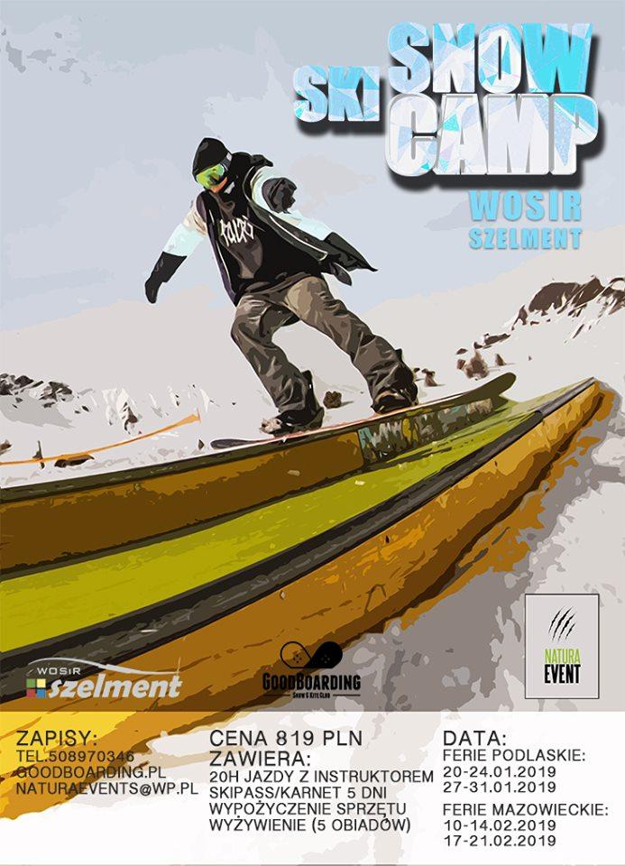 Snow&Ski Camp – Półkolonie WOSiR SZELMENT