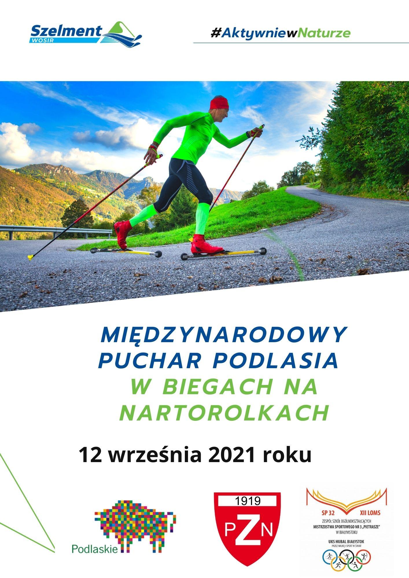 II Międzynarodowy Puchar Podlasia w biegach na nartorolkach.